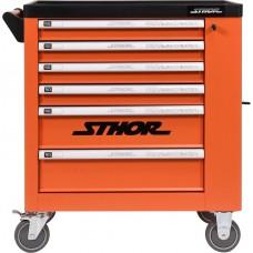 Фото - Шкаф для мастерских STHOR на колесах, 900 х 840 х 460 мм с 6 ящиками и потайной ячейкой