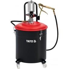 Фото - Смазочный аппарат пневматический YATO YT-07068: бак-30 л, 0.8 MPa
