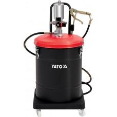Фото - Смазочный аппарат пневматический YATO YT-07069: бак-45 л, 0.8 MPa