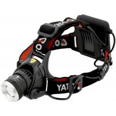 Фото - Фонарь светодиодный (XM-L2 CREE) налобный YATO YT-08591