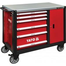 Фото - Шкаф-тележка для инструментов 1000 x 1130 x 570 мм, YATO YT-09002