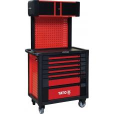 Фото - Шкаф-тележка для инструментов 995 x 950 x 550 мм, YATO YT-09008