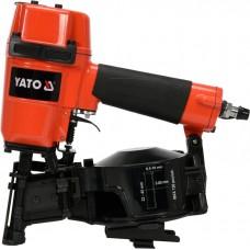 Фото - Пистолет гвоздезабивной, пневматический, барабанный YATO YT-09211 для гвоздей t = 3.05 мм, h = 22-45 мм, 7 Bar