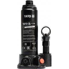 Фото - Домкрат гидравлический бутылочный 2 т, YATO YT-17000