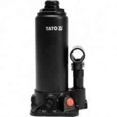 Фото - Домкрат гидравлический бутылочный 3 т, YATO YT-17001