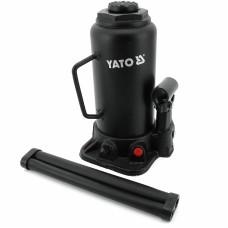 Фото - Домкрат гидравлический бутылочный 10 т, YATO YT-17004