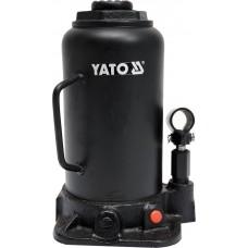 Фото - Домкрат гидравлический бутылочный 20 т, YATO YT-17007