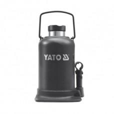 Фото - Домкрат гидравлический бутылочный 15 т, YATO YT-1706