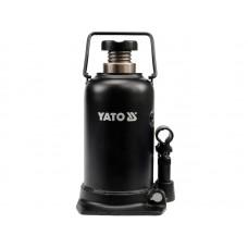 Фото - Домкрат гидравлический бутылочный 20 т, YATO YT-1707