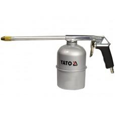 Фото - Пистолет пневматический YATO для промывки с бачком YT-2374