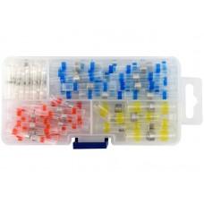Фото - Кембрики термоусадочные при t - 105 °C с оловом YATO: для проводов 0.25-6 мм², 100 шт