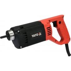 Фото - Вибратор для укладки бетона сетевой YATO YT-82600 1200 Вт, с булавой l = 3 м, Ø = 35 мм