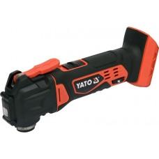 Фото - Многофункциональный ручной инструмент (РЕНОВАТОР) аккумуляторный YATO YT-82819: Li-Ion 18 В