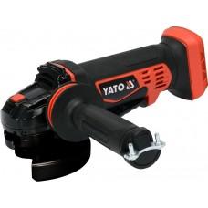 Фото - Шлифмашина угловая аккумуляторная без аккумулятора и зарядного устройства YATO YT-82827 18 В, для диска Ø = 125 мм