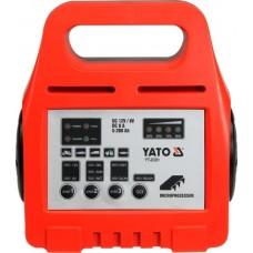 Фото - Зарядное устройство 6 / 12 V 8 А 5-200 Ah, YATO YT-8301
