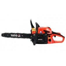 Фото - Бензопила цепная YATO YT-84901; 45,1 см³, 1,8 кВт, шина - 16 '(36 см)
