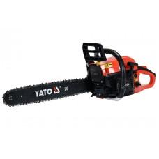 Фото - Бензопила цепная YATO YT-84910; 56,5 см³, 2,5 кВт, шина - 20 '(48 см)