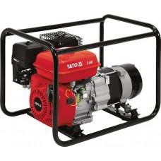 Фото - Генератор электрического тока бензиновый YATO YT-85451: W = 2 кВт, U = 230 В, расход - 0.6 л / ч, бак - 3.6 л