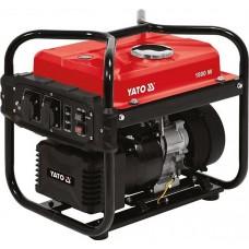 Фото - Генератор электрического тока бензиновый YATO YT-85482: W = 1.8/2 кВт, U = 230 В, расход - 1.13 л / ч, бак- 10 л