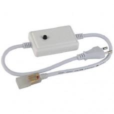 Фото - 12/1 Адаптер питания для RGBY светодиодной ленты 6mm+коннектор 2pin 220V 48-2835