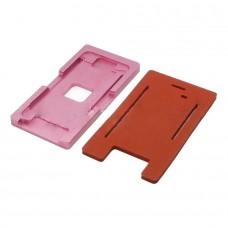 Фото - Комплект форм (из металла и пористой резины) для APPLE iPhone 5S, для отцентровки и склеивания дисплея со стеклом оснащённым дисплейной рамкой