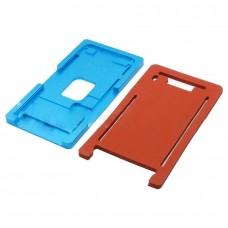 Фото - Комплект форм (из металла и пористой резины) для APPLE iPhone 7 Plus, для отцентровки и склеивания дисплея со стеклом оснащённым дисплейной рамкой