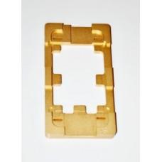 Фото - Форма металлическая для APPLE iPhone 4/4S, для фиксации комплекта дисплей + тачскрин при склеивании