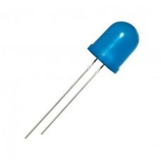Фото - Светодиод 12V D = 10 мм суперяркий синий