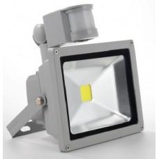 Фото - Светодиодный прожектор матричный 10W с выносным датчиком движения