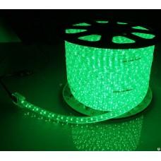 Фото - Светодиодная лента 10-G AVT-120G2835-220V-4W/m IP65 5mm зелёный