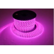 Фото - Светодиодная лента 10-P AVT-120P2835-220V-4W/m IP65 5mm розовый