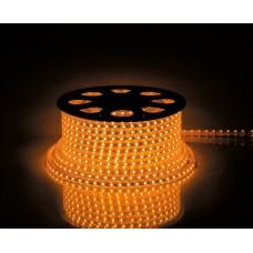 Фото - Светодиодная лента 10-O AVT-120Y2835-220V-4W/m IP65 5mm оранжевый
