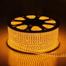 Фото - Светодиодная лента 10-Y AVT-120Y2835-220V-4W/m IP65 5mm жёлтый
