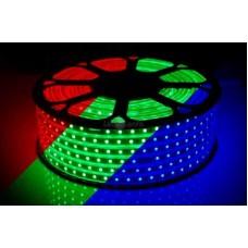 Фото - Светодиодная лента 14-RGB 60RGB5050-220V-8.8W/m IP65 10mm
