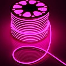 Фото - Светодиодная лента 51-P AVT-NEON 120P2835-220V-7W/m IP65 5mm розовый