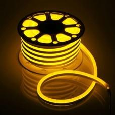 Фото - Светодиодная лента 51-Y AVT-NEON 120Y2835-220V-7W/m IP65 5mm жёлтый