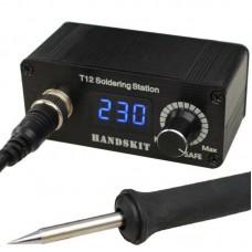 Фото - Микропаяльная станция HandsKit T12 c жалом с нагревателем, 72W, 200-450°C