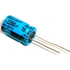 Фото - Конденсатор электролитический выводной 0,33 µF 50 V, 105°C, d4 h7 СТОК Huang -40°+105°C