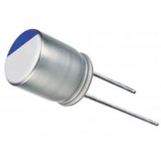 Фото - Полимерный конденсатор 100 uF 16 V; 105°C; d5 h8 LEAGUER серия: RPX; LOW E.S.R.; 2000h