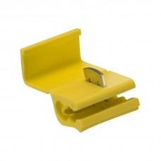 Фото - Соединитель + ответвитель KW-5, 4-6 мм² с врезным контактом, жёлтый, 100 шт