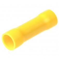 Фото - Гильза соединительная с изоляцией BV5.5, Ø 4-6 мм², жёлтая, 100 шт