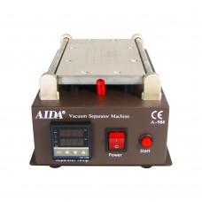 """Фото - Сепаратор 8.5"""" (19 х 11 см) AIDA 988 со встроенным компрессором для вакуумного способа фиксации стекла"""