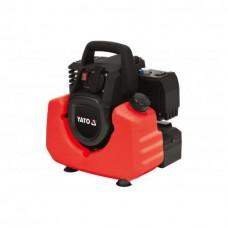 Фото - Генератор электрического тока бензиновый YATO YT-85481: W = 800/880 Вт, U = 230 В, расход - 0.75 л / ч, бак- 3.5 л