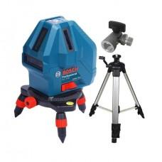Фото - Линейный лазерный нивелир (построитель плоскостей) GLL 5-50 + мини штатив BOSCH