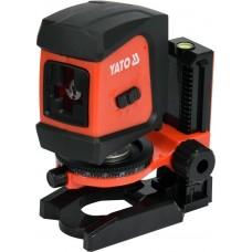 Фото - Нивелир лазерный самовыравнивающийся YATO YT-30425 дальность- 20 м, точность- ±1.5 мм / 5 м