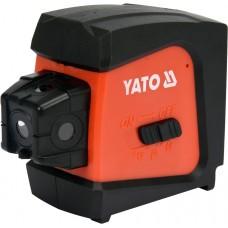 Фото - Нивелир лазерный линийно-точечный самовыравнивающийся YATO YT-30427 дальность- 20 м, точность- ±1.5 мм / 5 м