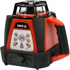 Фото - Нивелир лазерный ротационный самовыравнивающийся YATO YT-30430 дальность- 20/30/400 м (с датчиком), точность- ±1 мм / 1.5 м