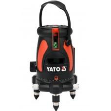 Фото - Нивелир лазерный самовыравнивающийся YATO YT-30432 li-ion 3.7 в 1.8 ач дальность- 25 м точность- ±2 мм/ 10 м + ящик