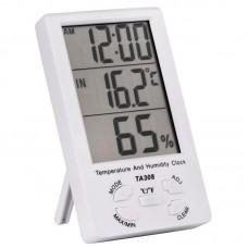 Фото - Термометр настольный TA308 3 в 1 термометр, влажность, часы