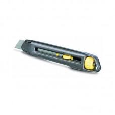 Фото - Нож 18мм сегментированное лезвие 165мм, метал серия Interlock 0-10-018 Stanley